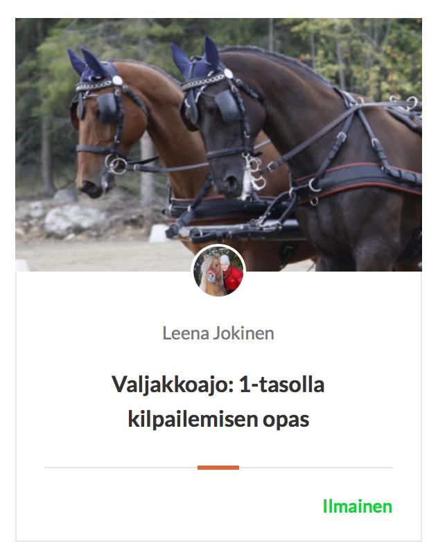 Hevoskoulutus_valjakkoajo1